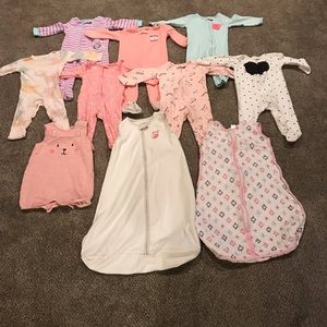 Other - Baby Girl 6-9 Month Sleeper Lot